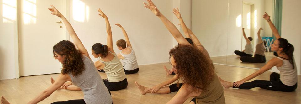 Officine Morghen: esercizi di Pilates