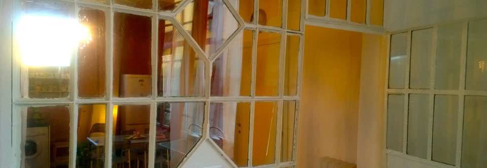Officine Morghen: antica vetrata